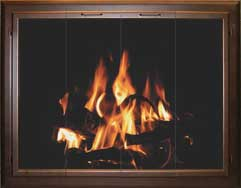 Premier Extruded Fireplace Doors