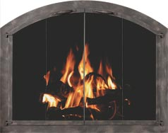 Arch Fireplace Doors