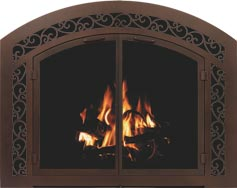 Sidelight & Transom Fireplace Doors