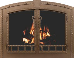 Blacksmith Fireplace Doors