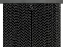 Hanging Mesh Kit Fireplace Doors