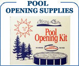 Pool Opening Supplies