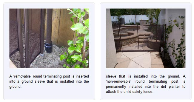 Removable Privacy Fence inground pool safety fences | inground pool fence