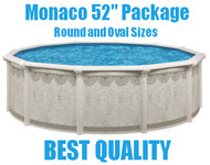 "Monaco 52"" Above Ground Swimming Pool Packages"