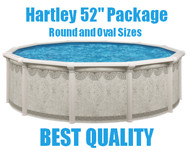 "Hartley 52"" Resin Above Ground Swimming Pool Packages"