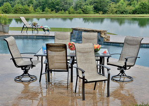 Recreational Warehouse Patio Furniture Wrought Iron Patio