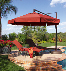 11 Ft. Octagon Cantilever Umbrella