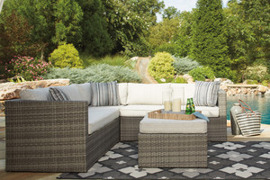 Wicker Sectional Seating Sets