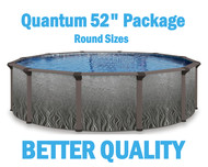"Quantum 52"" Resin Above Ground Swimming Pool Packages"