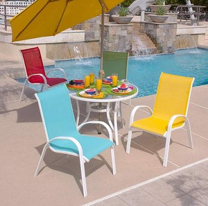 ... Aluminum Sling Patio Furniture