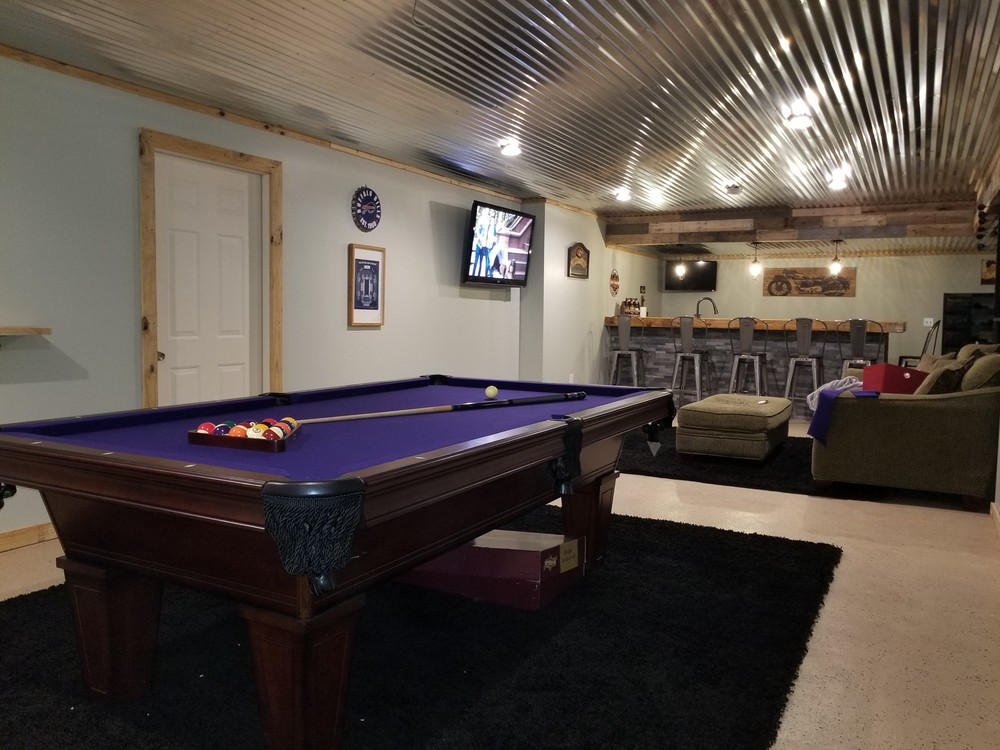 Pool Tables RecWNYcom - How much room is needed for a pool table