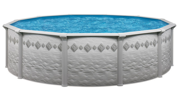 Above ground swimming pool packages pacific 52 above for Above ground pool packages cheap