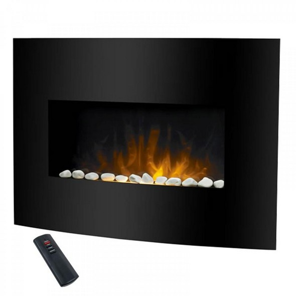 Even Glow Balmoral Wall Mount Electric Fireplace - RecWNY.com