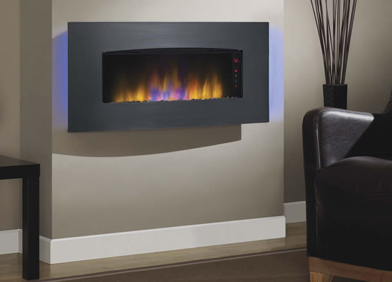 wall mounted electric heater with blower panel heaters uk plug in classic flame transcendence mount