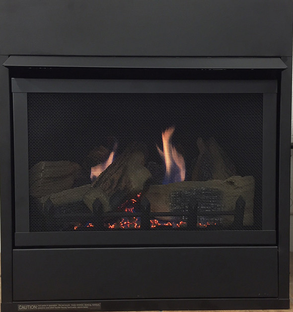 Ventless Gas Fireplaces Only Gt Monessen Aria 36