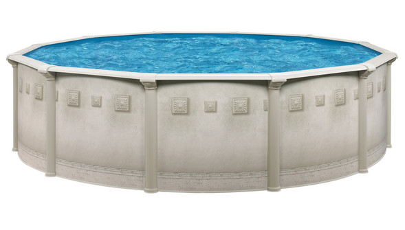 Above ground resin swimming pool packages nuance 52 for Above ground pool packages cheap