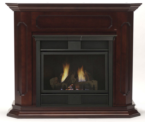 Chesapeake 24 Inch Vent Free Gas Fireplace Remote Ready