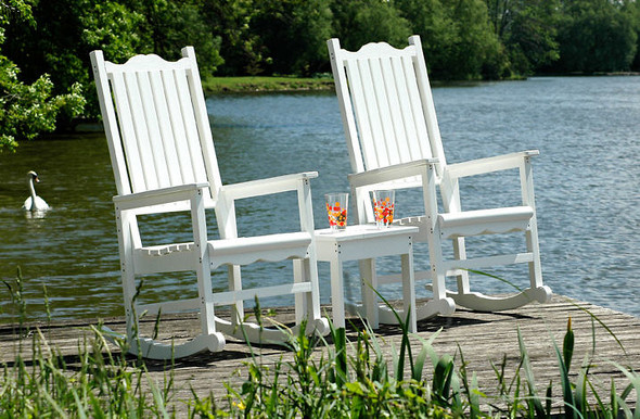 Resin adirondack chairs and rockers porch rocker for Chaise adirondack bois