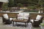 Paradise Trail 3 Piece Loveseat Seating Group