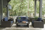Grasson Lane 3 Piece Loveseat Seating Group