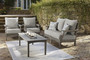 Visola 3 Piece Loveseat Seating Group