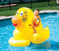 Giant Ducky Ride-On