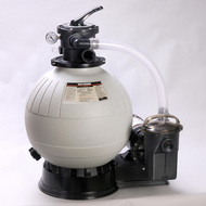 Hayward E-100 Aboveground Pool Sand Filter with 1 HP Power-Flo Pump
