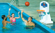 Pool Jam Combo Molded Basketball and Volleyball Set