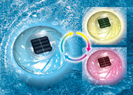 Floating Solar Light - Rainbow