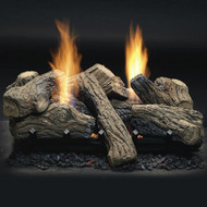 Monessen Natural Blaze See-Thru Vent Free Gas Logs - Remote Ready - 27 inch - Propane