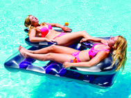 "66"" Face 2 Face Double Lounger"