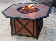 Haywood Gas Burning Fire Pit