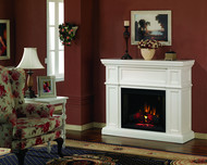 Classic Flame Artesian Electric Fireplace Package