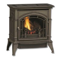 Monessen Large Ventless Gas Stove - Remote Ready - Natural Gas or Propane
