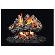 ProCom WAN Series Vented Gas Logs with Concentric Safety Pilot - 18 or 24 inch - Natural Gas or Propane