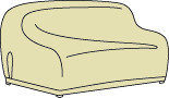 Wicker / Deep Seating X-Large Sofa Cover