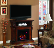 Classic Flame Corinth Dual Use Home Theater Electric Fireplace Package