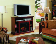 Classic Flame Beverly Home Theater Electric Fireplace Package