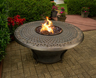 Charleston Gas Burning Fire Pit