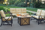 Haywood 5 Piece Deep Seating Fire Pit Set