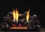 Monessen Charisma Ventless Gas Logs - Remote Ready - 18, 24 or 30 inch - Natural Gas