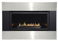 White Mountain Loft Contemporary Direct Vent Gas Insert - Remote Ready - Natural Gas Only