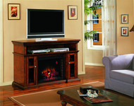 Classic Flame Pasadena Home Theater Electric Fireplace Package