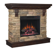 Classic Flame Eugene Electric Fireplace Package