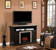 Classic Flame Brighton Home Theater Electric Fireplace Package