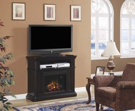 Classic Flame Oakfield Dual Use Home Theater Electric Fireplace Package
