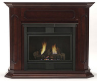 Monessen Barrington Wall Surround & Hearth Only - Dark Walnut Finish Only - for Symphony 32 Series