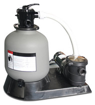 Hydrotools #72220 Above Ground Pool Sand Filter with 2 HP Pump