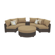 Spring Ridge Curved Sectional Seating Group