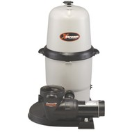 Hayward CC150 Above Ground Pool Cartridge Filter with 1.5 HP Power-Flo Pump